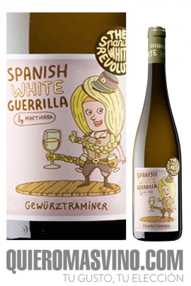 Spanish White Guerrilla Gewurztraminer
