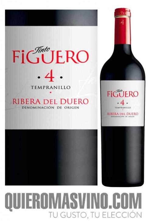 Tinto Figuero 4 roble 2018