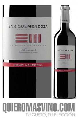 Enrique Mendoza Merlot - Monastrell 2017