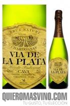 Cava Vía de la Plata Chardonnay Brut Nature