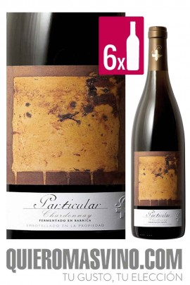 Particular Chardonnay Fermentado en Barrica 2017 CAJA 6 BOTELLAS