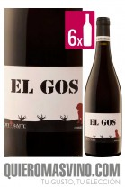El Gos Tinto CAJA 6 BOTELLAS
