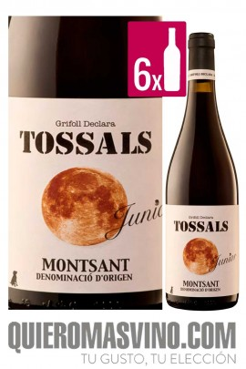 Tossals Junior CAJA 6 BOTELLAS