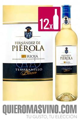 Piérola Tempranillo Blanco CAJA 12 BOTELLAS