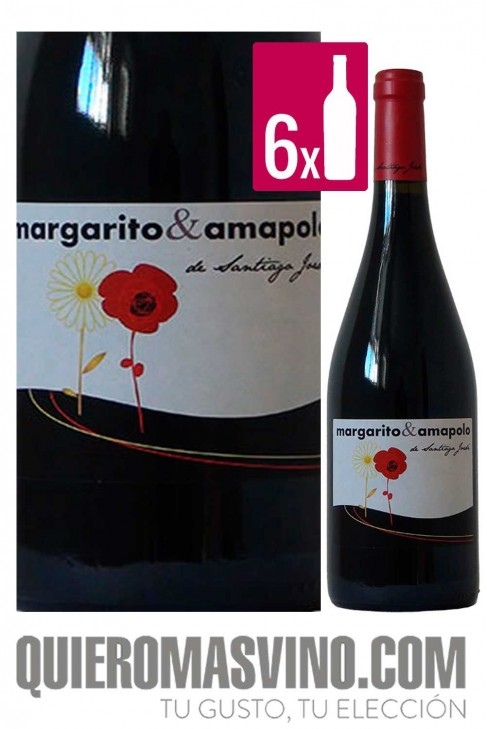 Margarito & Amapolo CAJA 6 BOTELLAS
