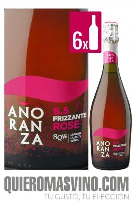 Frizzante Añoranza Rosé CAJA 6 BOTELLAS