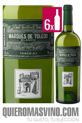 Marqués de Toledo Verdejo CAJA 6 BOTELLAS