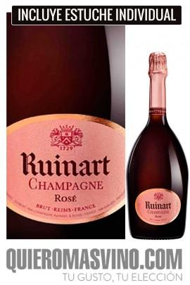 Ruinart Rosé con Estuche