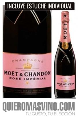 Moët & Chandon Brut Impérial Rosé con Estuche