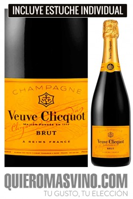Veuve Clicquot Brut Yellow Label con Estuche
