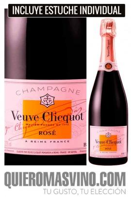 Veuve Clicquot Brut Rosé con Estuche