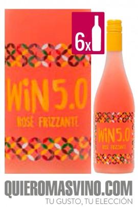 Win 5.0 Rosé Frizzante CAJA 6 BOTELLAS
