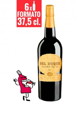 Del Duque Amontillado VORS 37,5 cl. CAJA 6 BOTELLAS