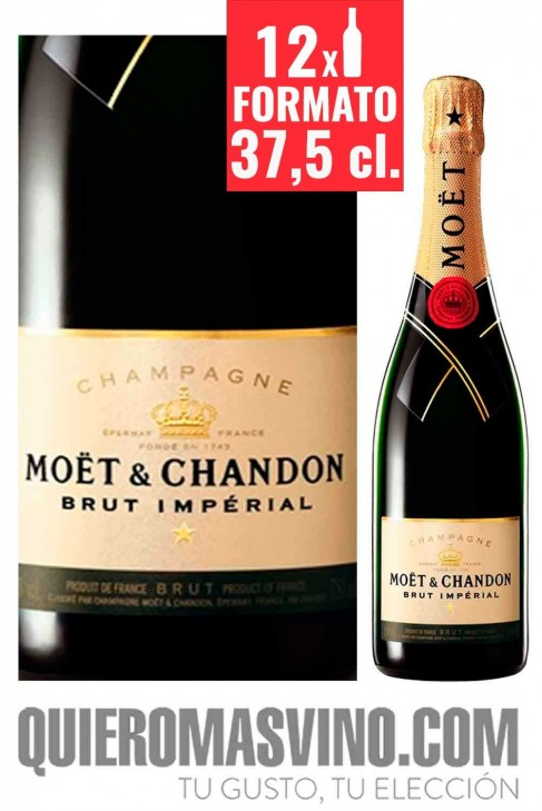 Moët & Chandon Brut Impérial 37,5 cl. CAJA DE 12 BOTELLAS