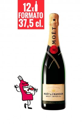 Moët & Chandon Brut Impérial 37,5 cl. CAJA DE 12 BOTELLAS