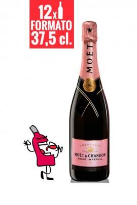 Moët & Chandon Brut Impérial Rosé 37,5 cl. CAJA DE 12 BOTELLAS