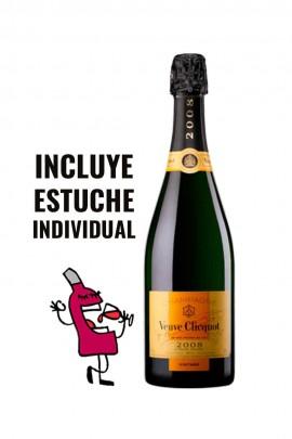 Veuve Clicquot Vintage 2008 con Estuche