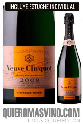 Veuve Clicquot Vintage Rosé 2008 con Estuche