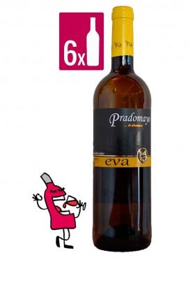 Pradomayo Blanco Eva CAJA 6 BOTELLAS