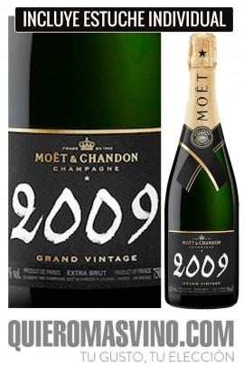 Moët & Chandon Grand Vintage 2009 con Estuche