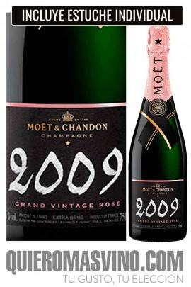Moët & Chandon Grand Vintage Rosé 2009 con Estuche