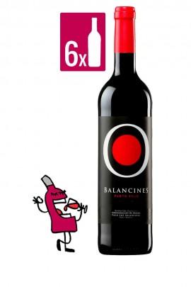 Balancines Punto Rojo CAJA 6 BOTELLAS