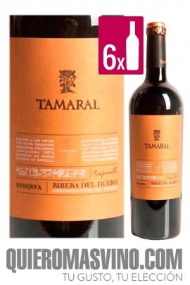 Tamaral Reserva CAJA 6 BOTELLAS