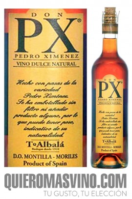 Toro Albalá Don PX Joven