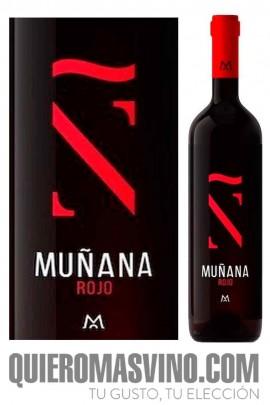 Muñana Ñ Rojo, tinto crianza de Granada