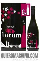 Vermut Florum CAJA 6 BOTELLAS, vermut andaluz