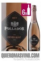 Follador Cuvée Rosé CAJA 6 BOTELLAS