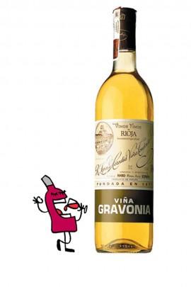 Viña Gravonia Blanco Crianza 2007